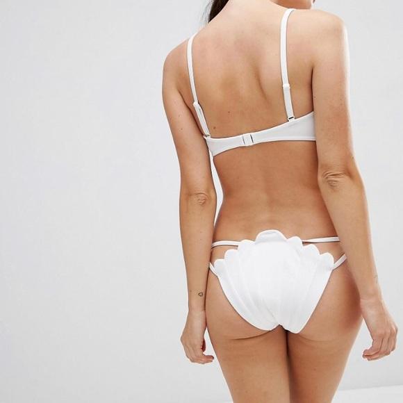 efd34bb1cc ASOS Other - ASOS mermaid shell white bikini bottom